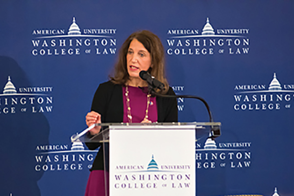 "President Burwell speaks at ""Next Steps in Health Reform 2017"" at Washington College of Law"