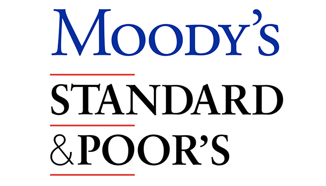 Moody's and Standard and Poor's