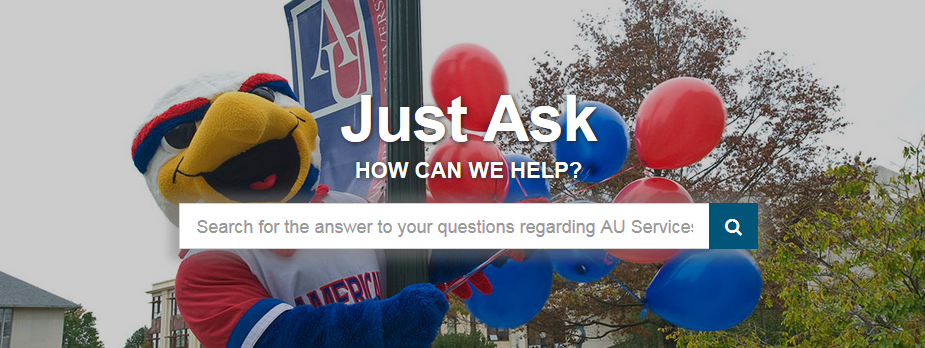 search for the answers to your questions regarding AU services.
