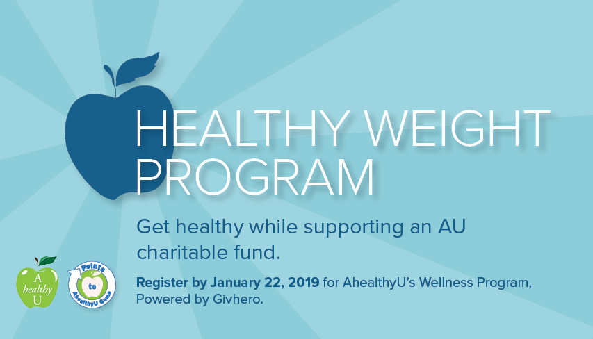 AhealthyU's Healthy Weight Program