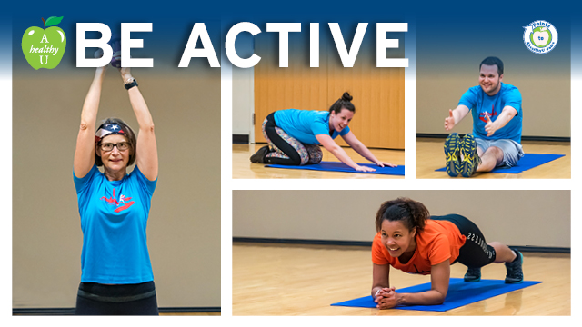Be Active. AhealthyU Fall Fitness Classes