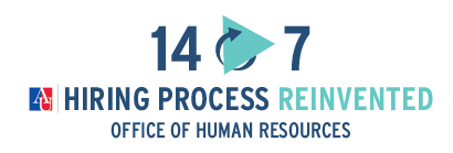 14-7 Hiring Process Reinvented, Office of Human Resources