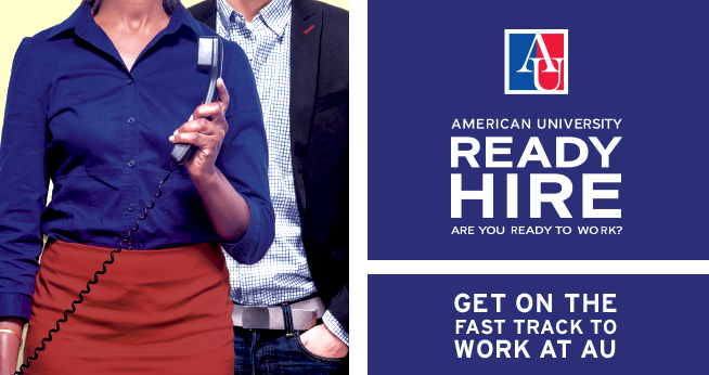 American University Ready Hire program