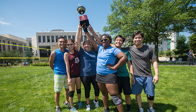 2017 Staff Appreciation Week Volleyball Champs - FASS and Furious