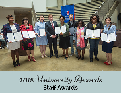 2017 Service to the AU Community Staff Award Winners