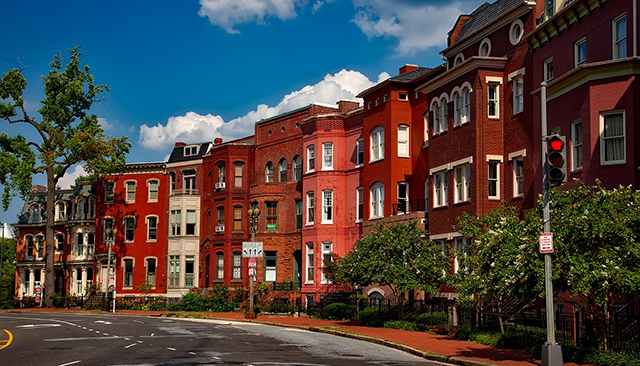 Row Houses in Washington, DC