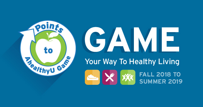 Game your way to healthy living with the Points to AhealthyU game.