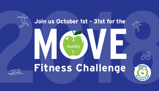 AhealthyU MOVE Fitness Challenge