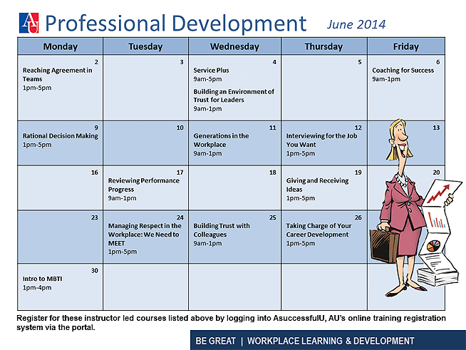 Professional Development June 2014