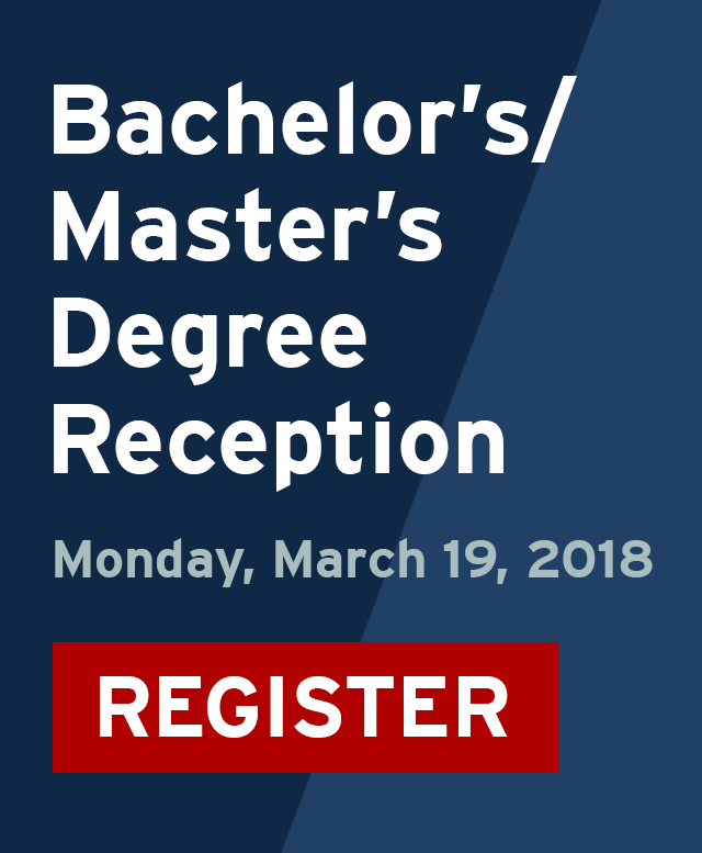 Bachelor's/Master's Reception