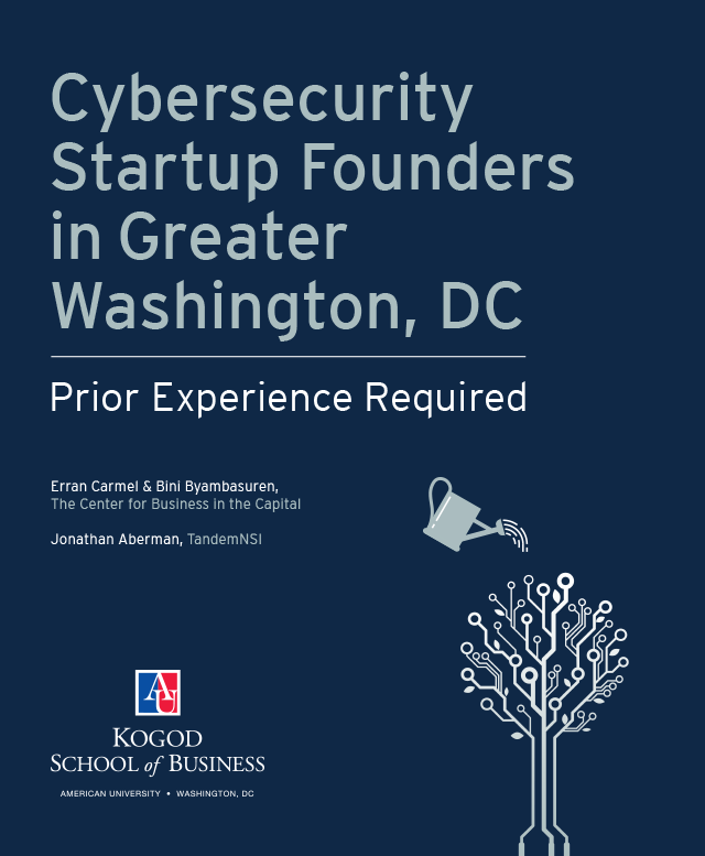 Cybersecurity Startup Founders Study Cover