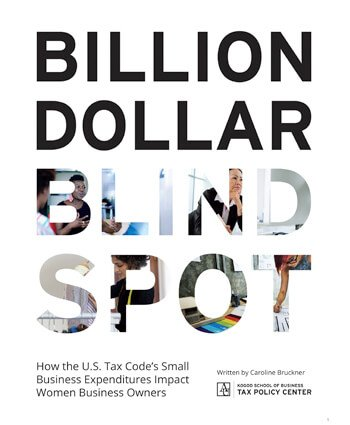 Billion Dollar Blindspot by Caroline Bruckner (Cover)