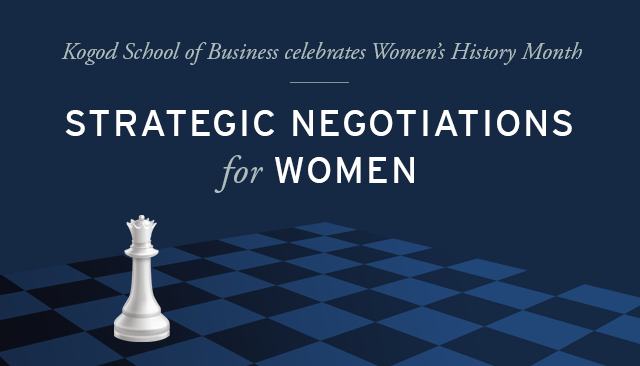 Strategic Negotiations for Women
