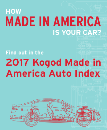 2017 Kogod Made In America Auto Index
