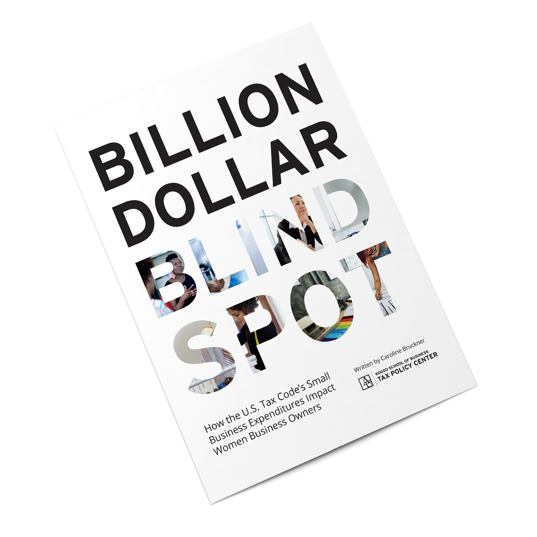 Billion Dollar Blindspot by Caroline Bruckner