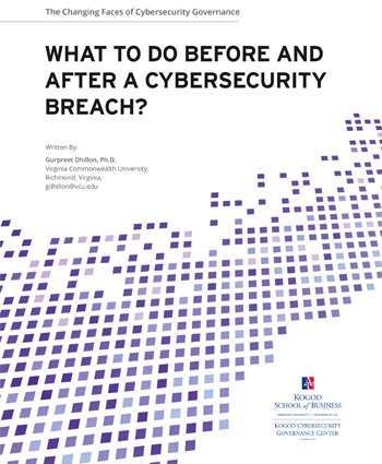 WHAT TO DO BEFORE AND AFTER A CYBERSECURITY BREACH? (Cover)