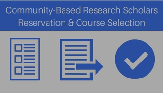 CBRS Reservation and Course Selection