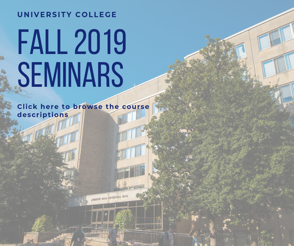 Click to browse the Fall 2019 Seminars