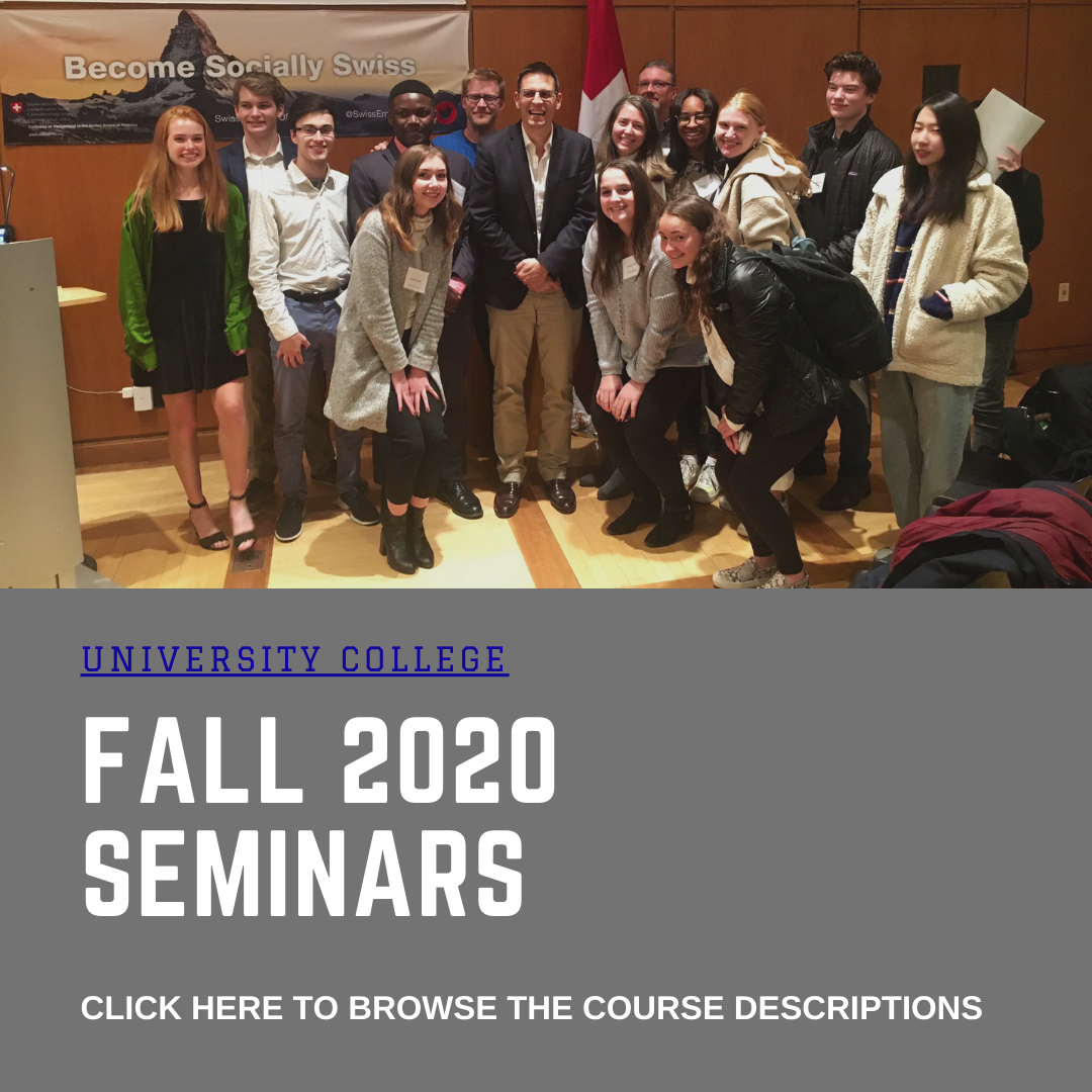 Click to browse the Fall 2020 Seminars
