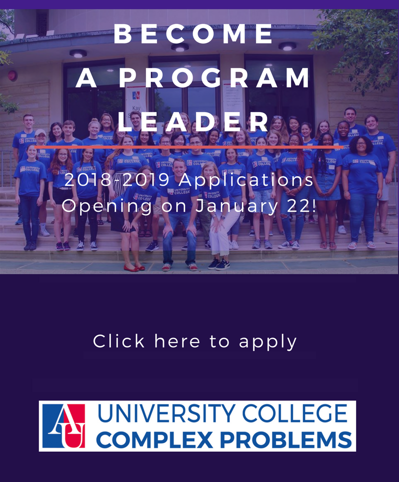 Become a Program Leader. Applications Open January 22