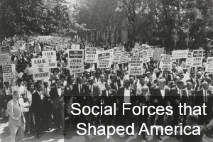 Social Forces that Shaped America