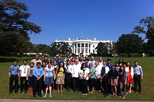 UC students at White House
