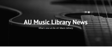 Music Library's blog, black and white guitar photo