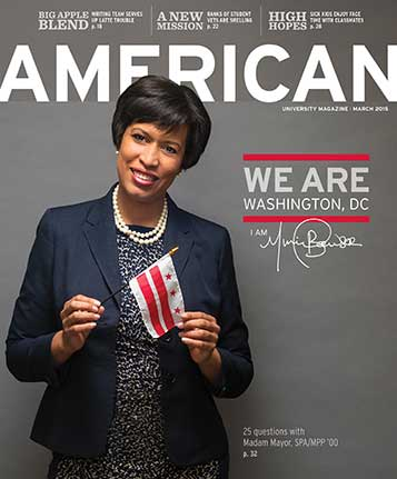 March 2015 cover of American with DC Mayor Muriel Bowser