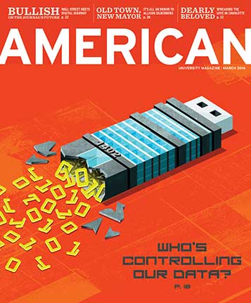 March 2016 cover of American magazine about data breaches