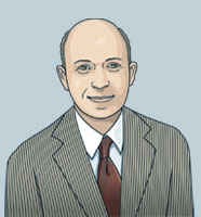 Illustration of Tom Goldstein