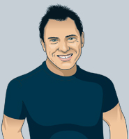illustration of videographer David Ruck