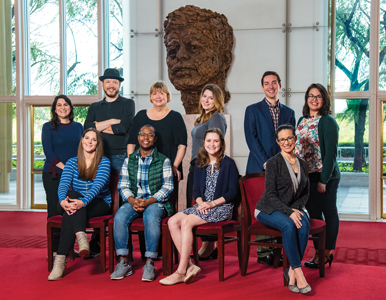 10 AU alumni and students who work at the Kennedy Center