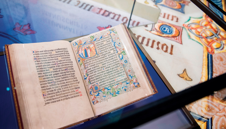 a Bible at the new Museum of the Bible in DC
