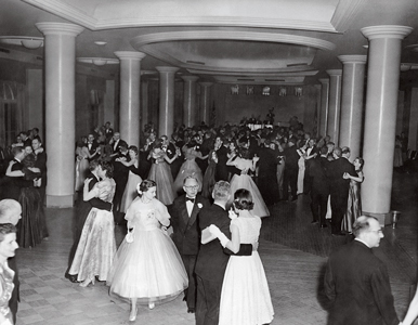 President Anderson's inaugural ball at the Shoreham Hotel in DC