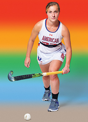 AU field hockey player Sammie McCormick