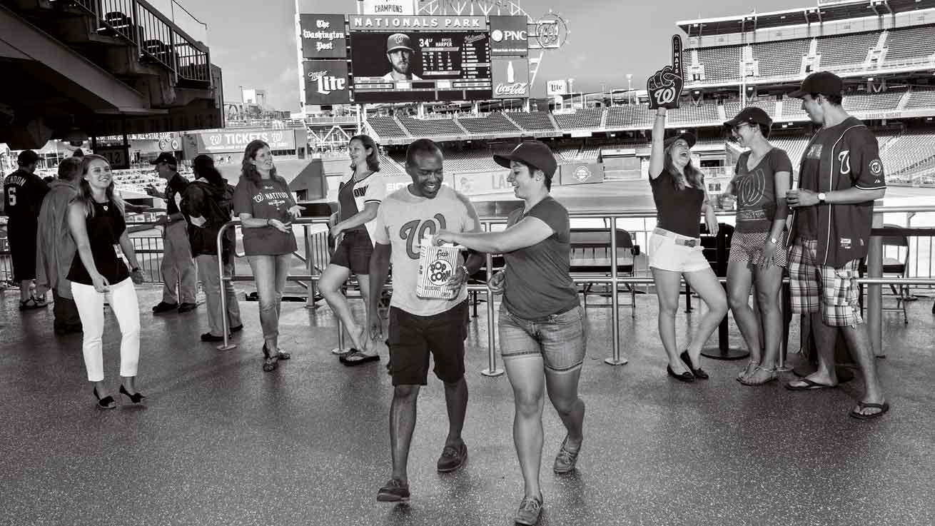 alumni at Nationals Park
