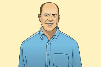 Illustration of Brad Geene