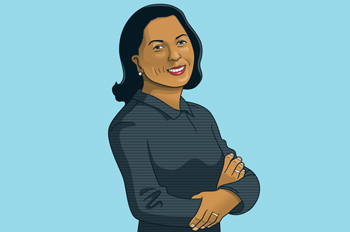 Illustration of Susan Rice