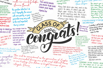 congratulations messages for the Class of 2020