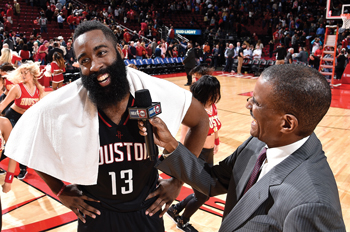 David Aldridge interviews James Harden