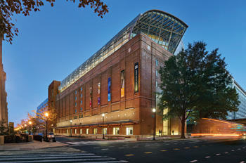 the Museum of the Bible in downtown DC