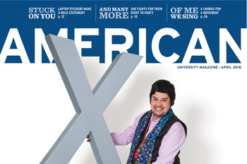 April 2018 American magazine cover featuring Nic Sakurai
