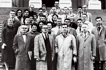 image of Washington Semester students in the 1950s