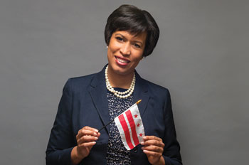 DC Mayor Muriel Bowser