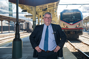 Amtrak VP Joe McHugh
