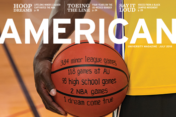 cover of the July 2018 American magazine with Andre Ingram