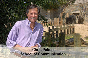 American University School of Communication professor Chris Palmer.