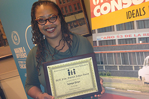 For her first film, Kogod professor Sonya Grier won the Judges' Choice Award at the 2013 Association for Consumer Research Conference.