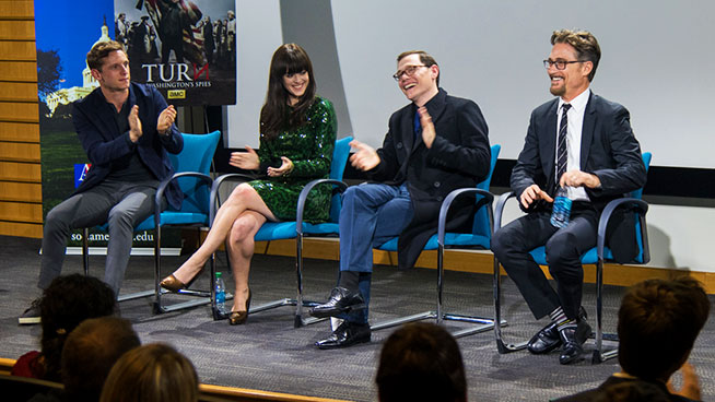 'TURN' Screening Brings History & Hollywood to AU