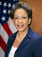 A photo of Loretta Lynch.